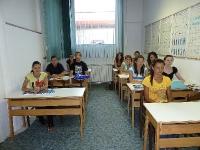 Polaznici autoškole na predavanju